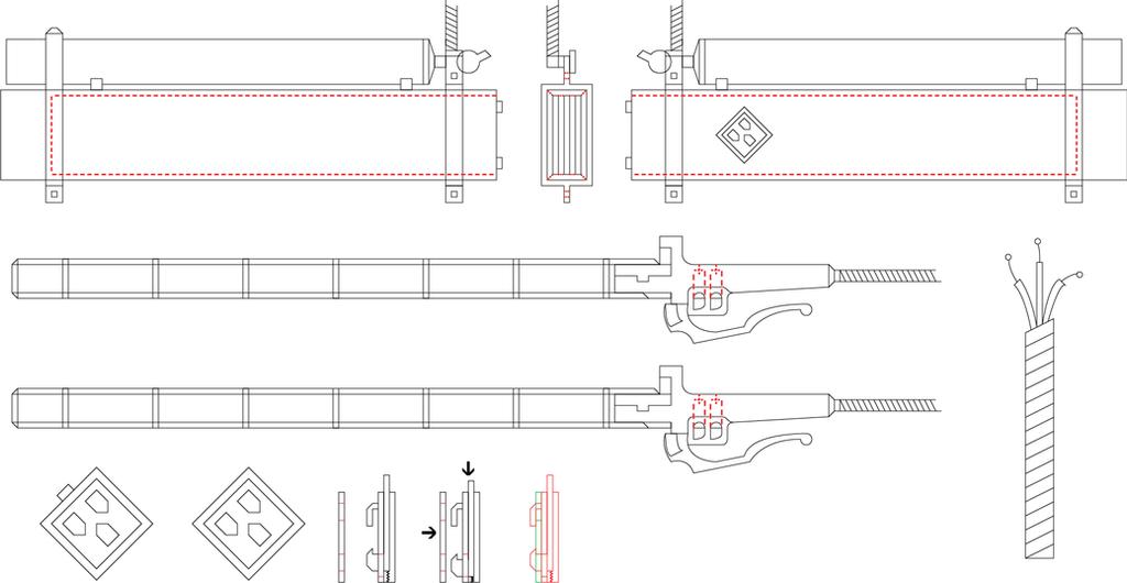 3d Gear Shingeki no kyojin  V 1.0 by TrisyDesign