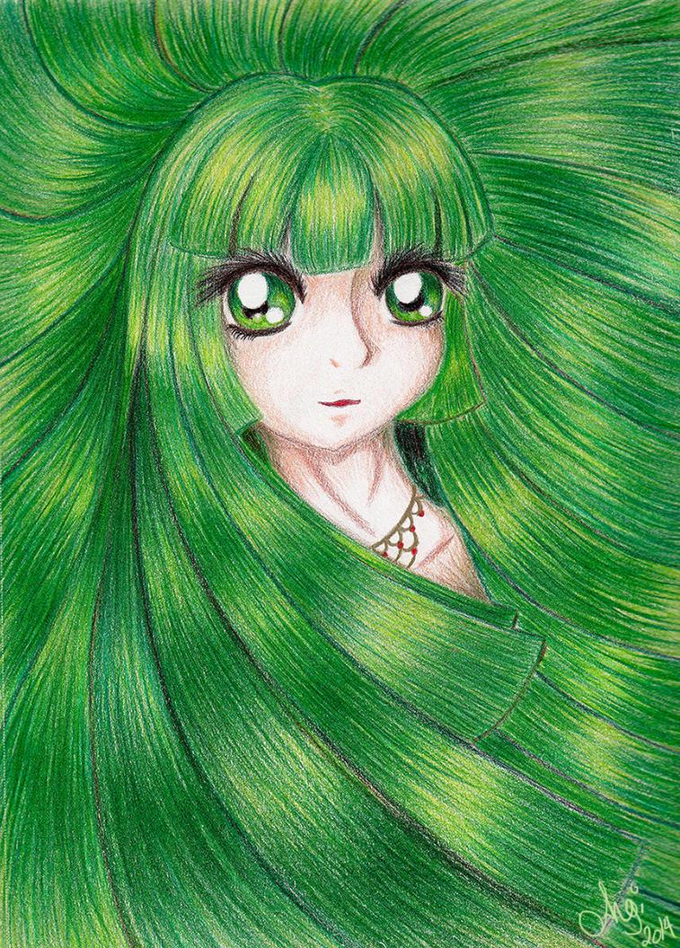 GreenLands Lady by x-Angel0