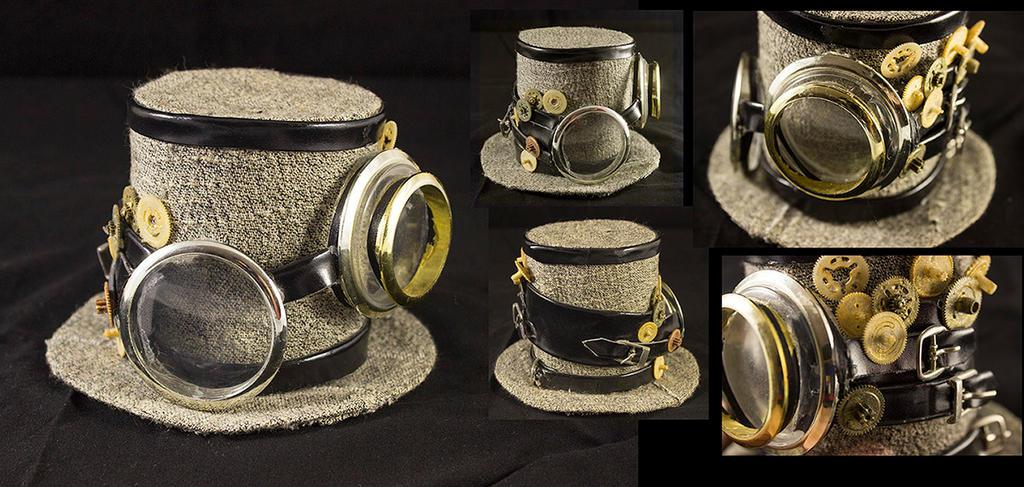 Lolita steampunk hat by x-Angel0