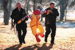 Ronald McDonald is in trouble