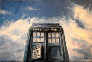 The TARDIS by shereline