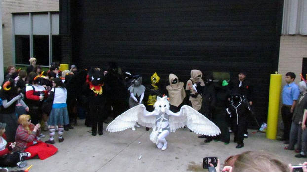 PM at the Acen 2012 Homestuck Photoshoot!