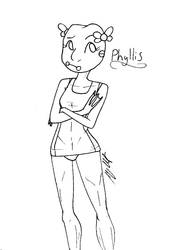 Phyllis by cosmicArtist-2000
