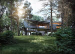 Mountain House by baydogdudesign