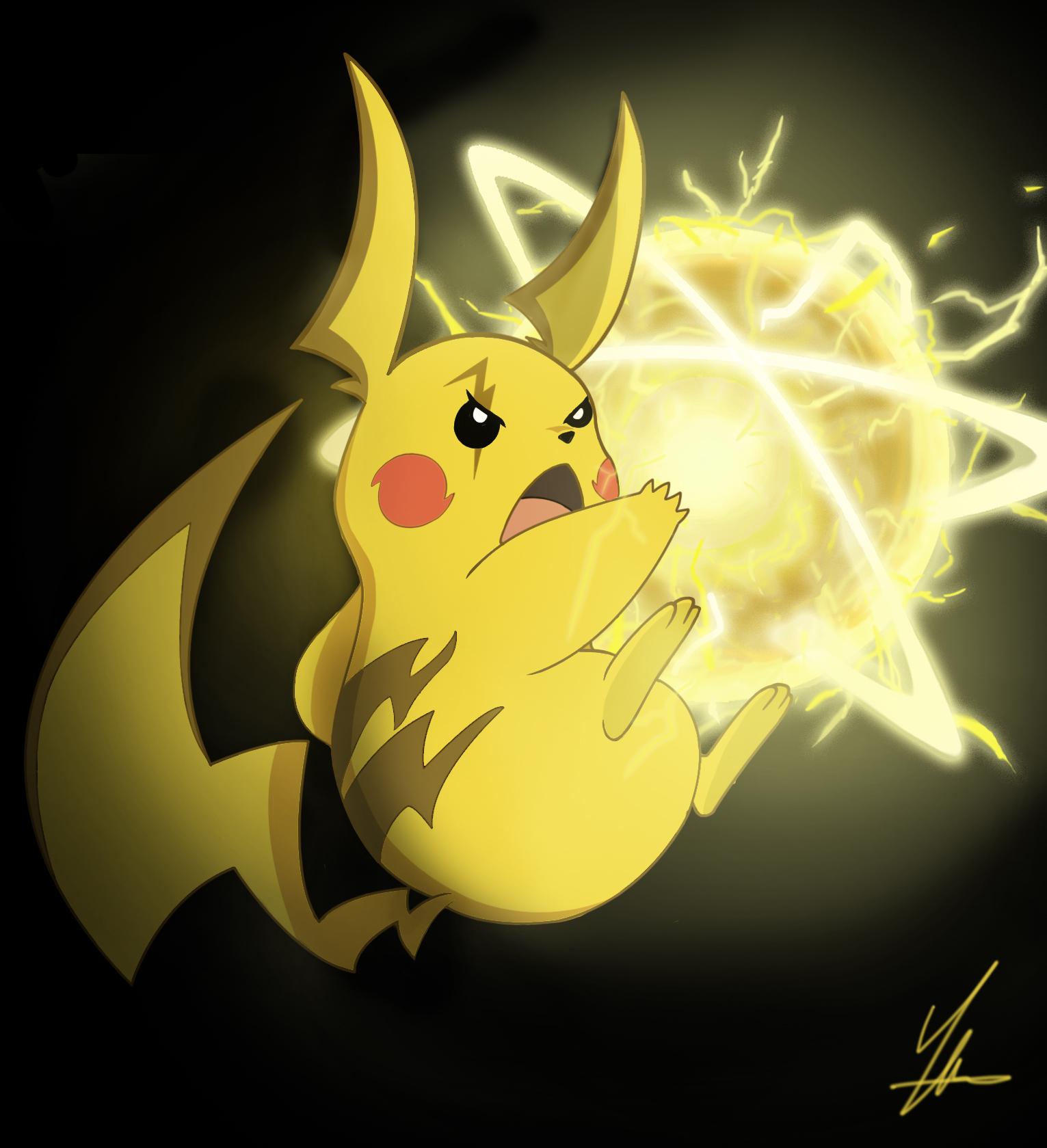 Ash's Mega Pikachu by Yihuilicias on DeviantArt
