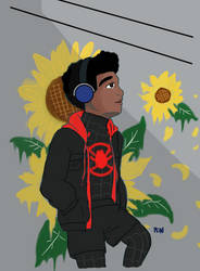 Miles Sunflower by n-trace