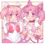 Chibiusa and Madoka