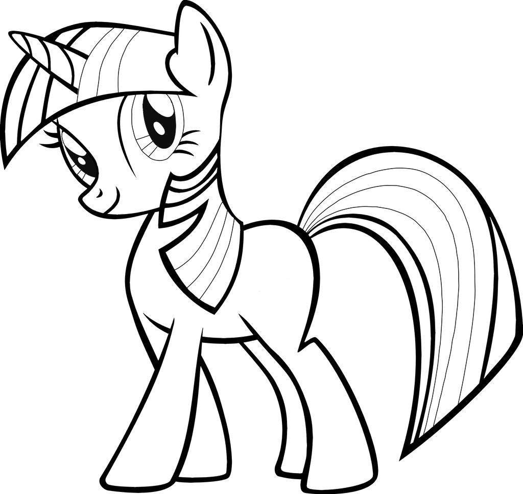 Twilight Sparkle Lineart By Sugarilicious On DeviantArt