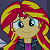 Sunset Shimmer (smile) Plz by Sugarilicious