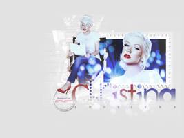 Christina Aguilera by peytonsworld