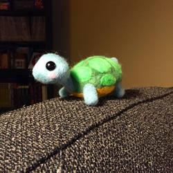 Needle Felt Turtle by CagelessBirdie