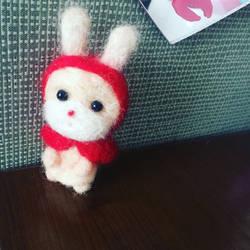 Needlefelt Red Riding Rabbit