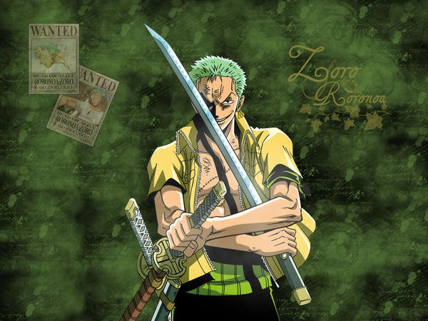 Zoro - You are my Hero by LunaInverseElric