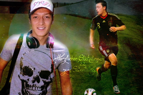 Mesut Ozil . Happy BDay By LunaInverseElric On DeviantArt