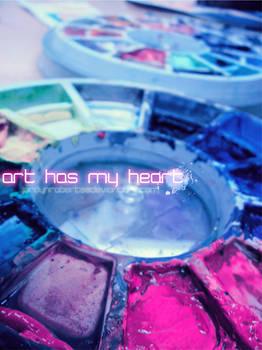 Art Has My Heart.:.:.