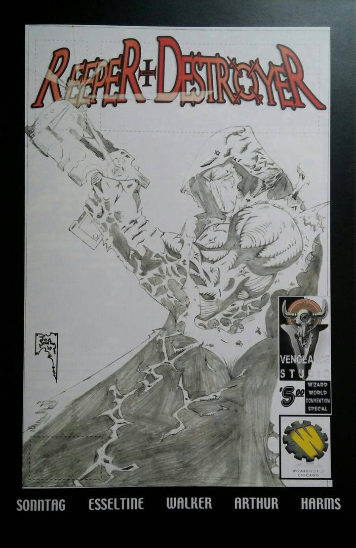 RD sketch cover  by Joe-Sonntag