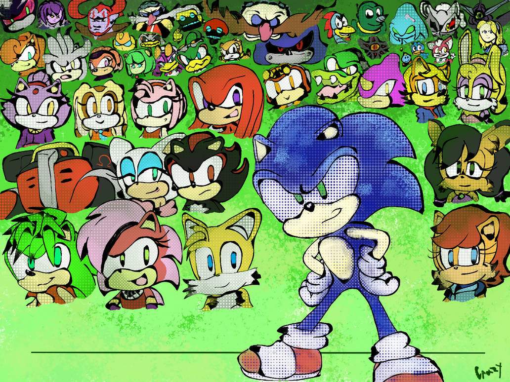 Sonic Characters!