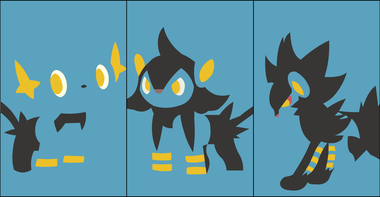 Shinx Luxray By Dragonitearmy