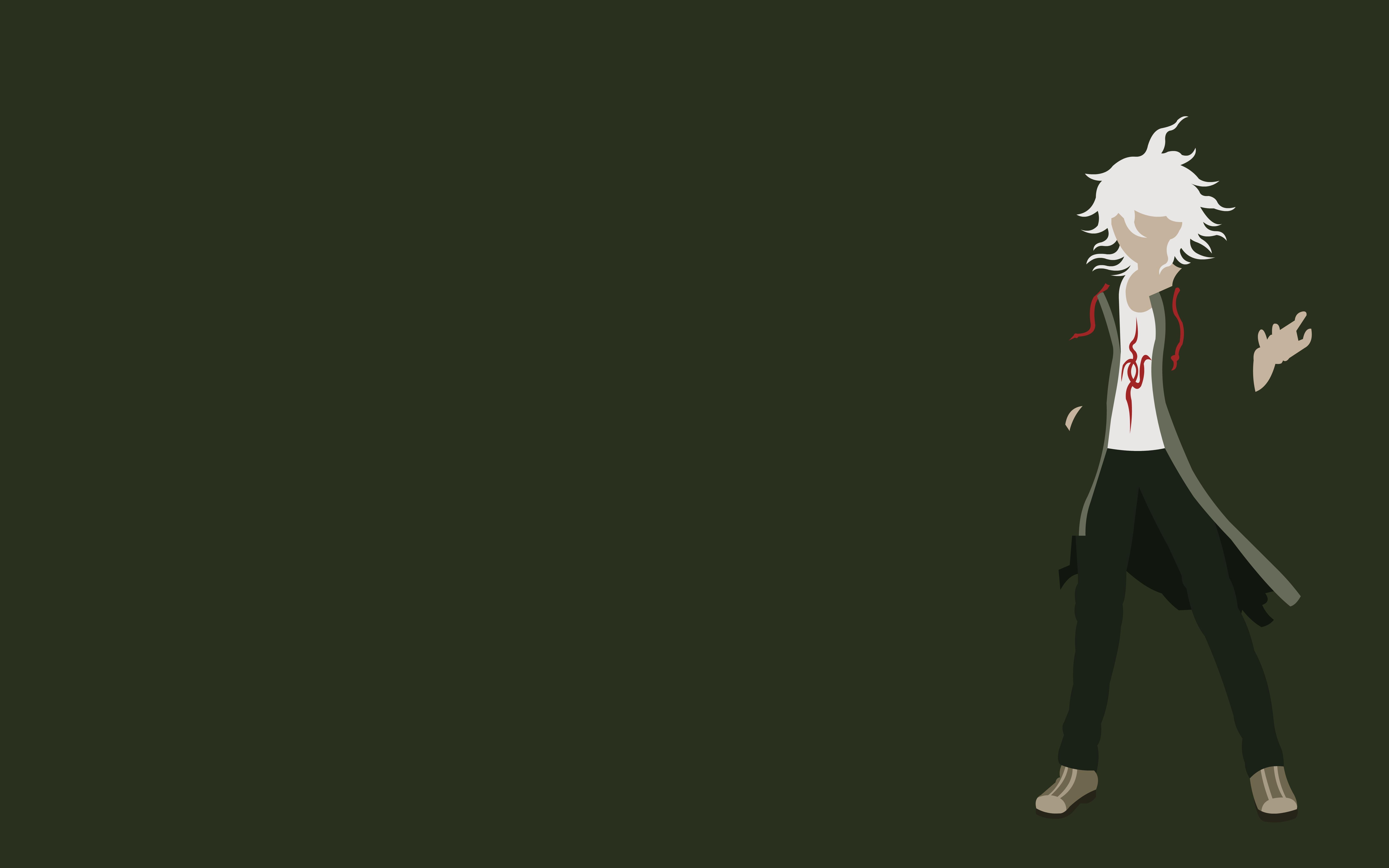 Nagito Komaeda 1 by dragonitearmy on DeviantArt