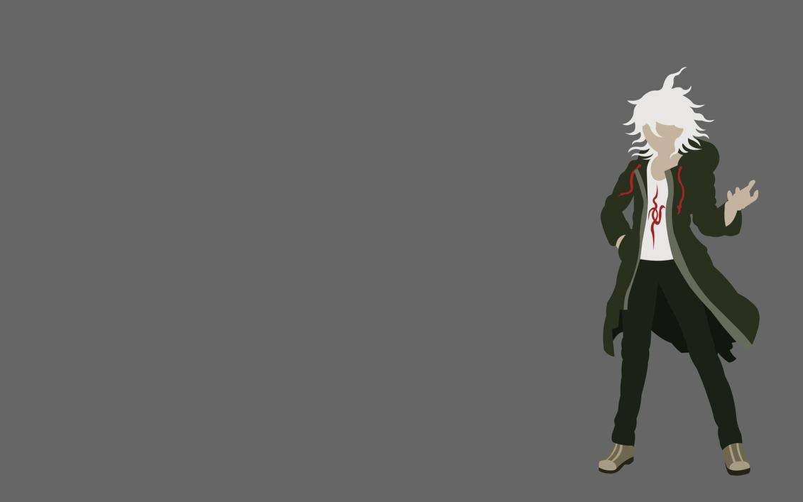 Nagito Komaeda 2 by dragonitearmy on DeviantArt