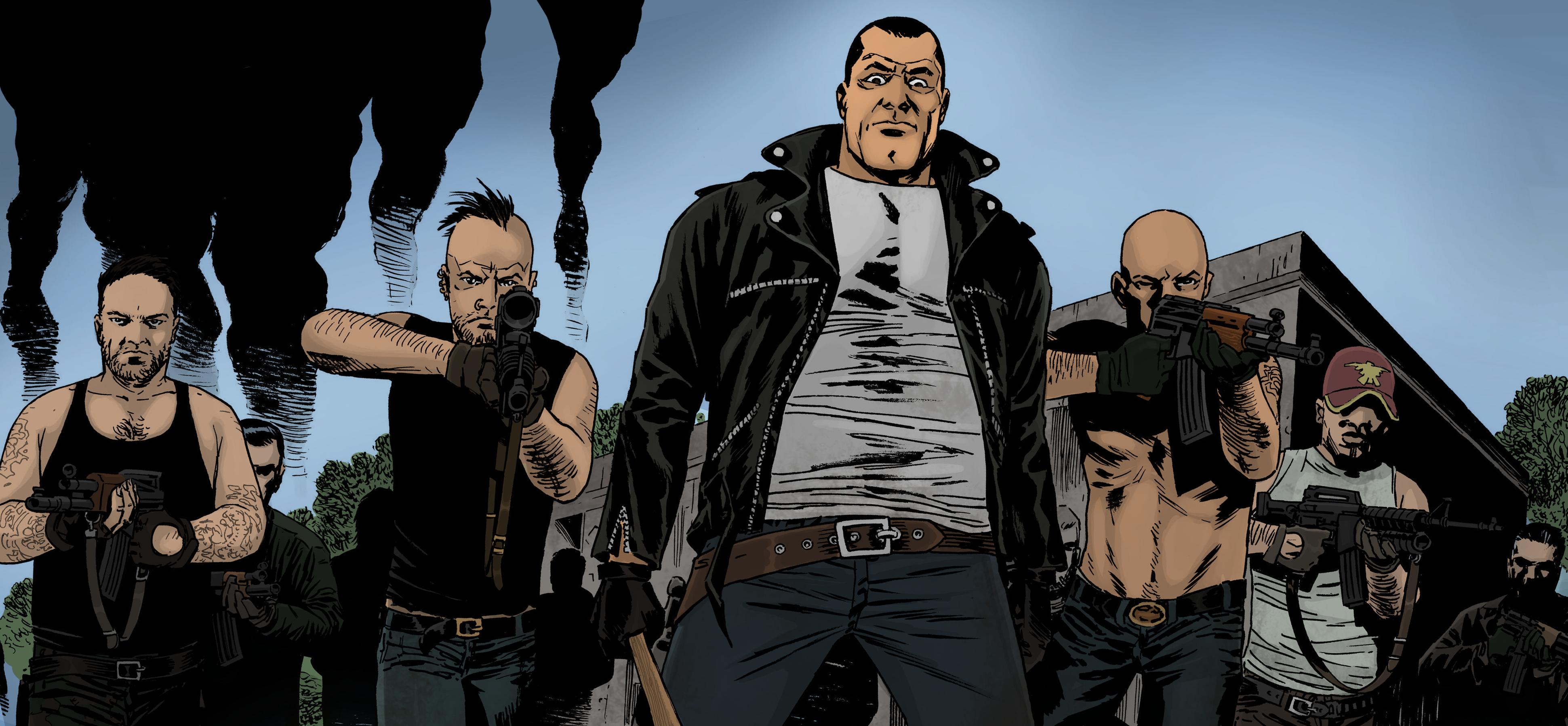 Negan The Walking Dead By Dragonitearmy On Deviantart