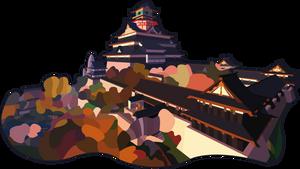 Castle of Nobunaga Oda