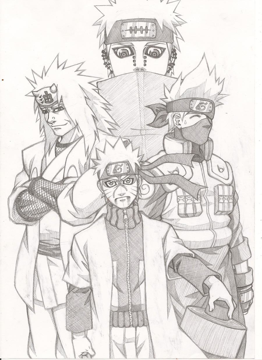 how to draw naruto characters book