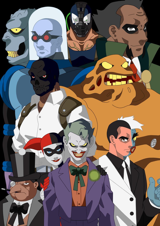 The Mob Of Gotham by dowaru