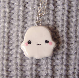 Baby Ghost Necklace by janeybaby