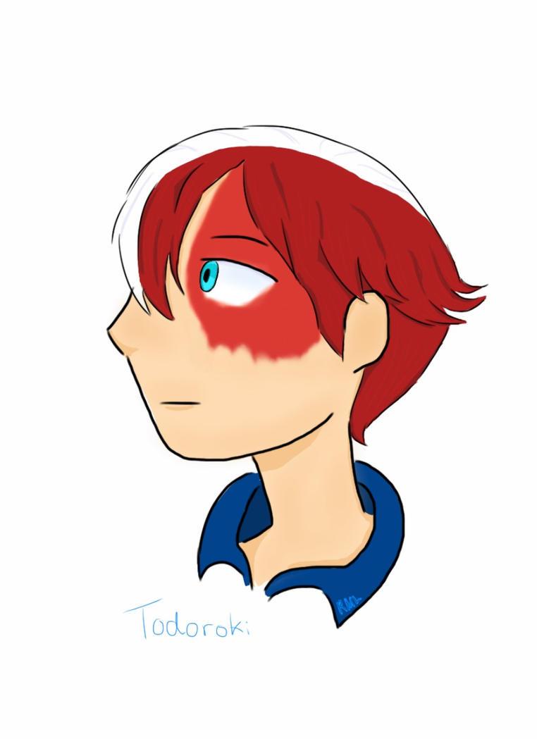 Todoroki 'mini fanart' doodle by RMLdoodlecomics