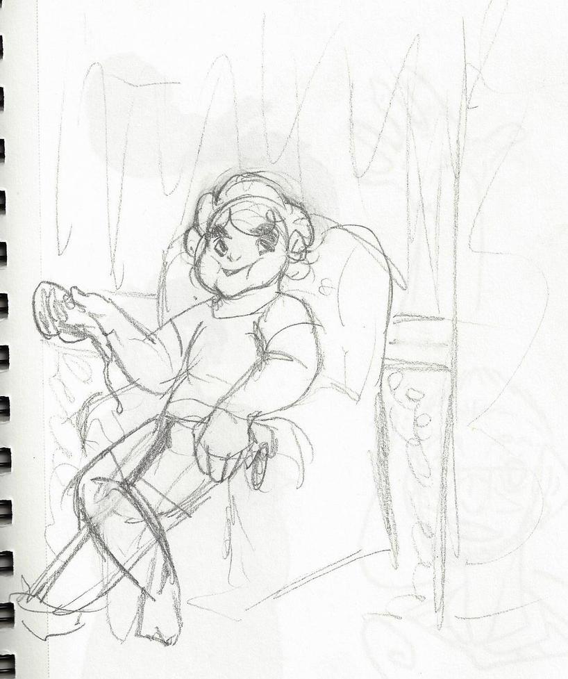 Steven doodle thingy by genericfandom