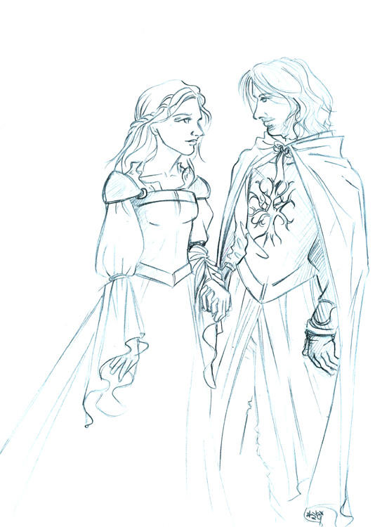 Faramir and Eowyn by N...