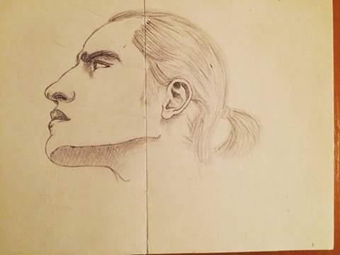 Self portrait by Sebiss