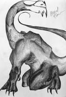 Dragon in Pen by Ivystream