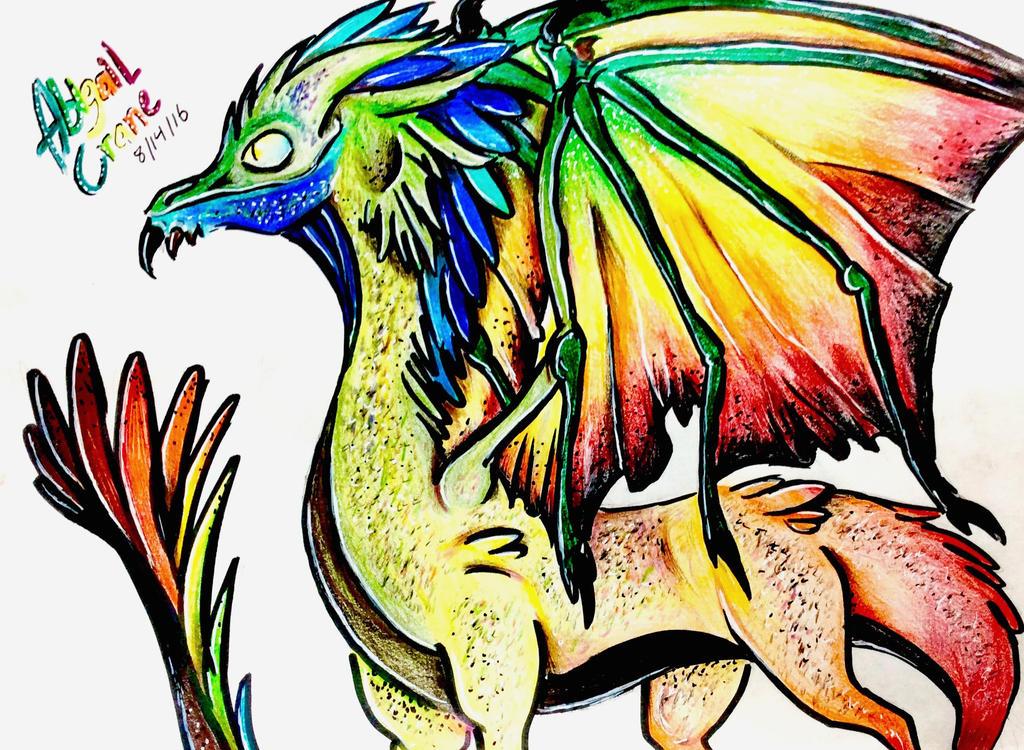 Rainbow Dragon by Ivystream