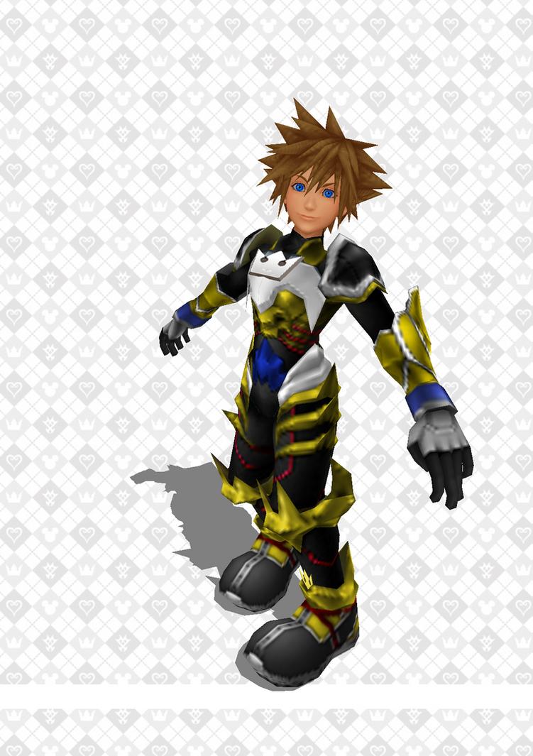 Keyblade Knight Sora by todsen19