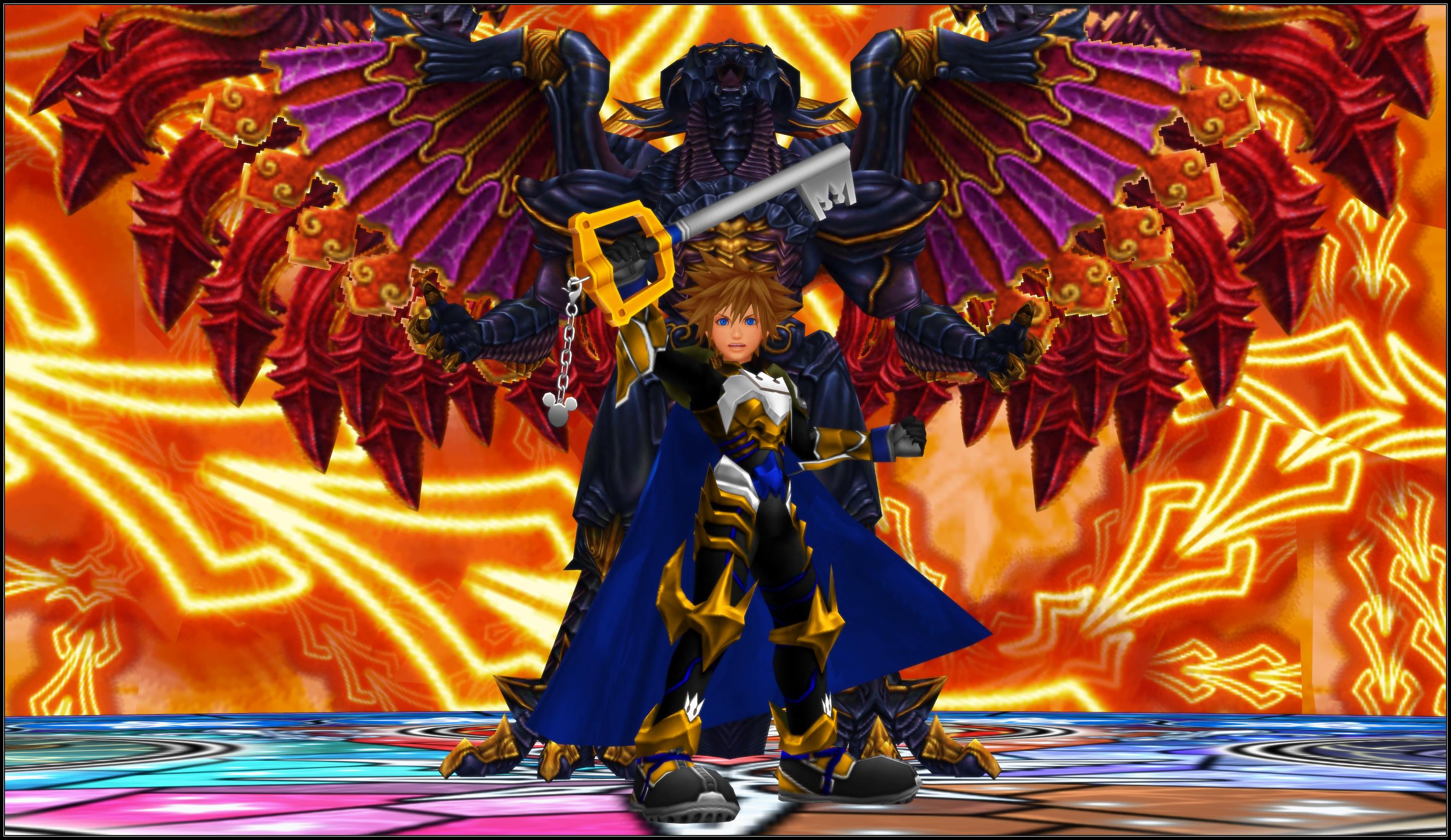 Kh3 Summoning The Dragon King By Todsen19 On Deviantart