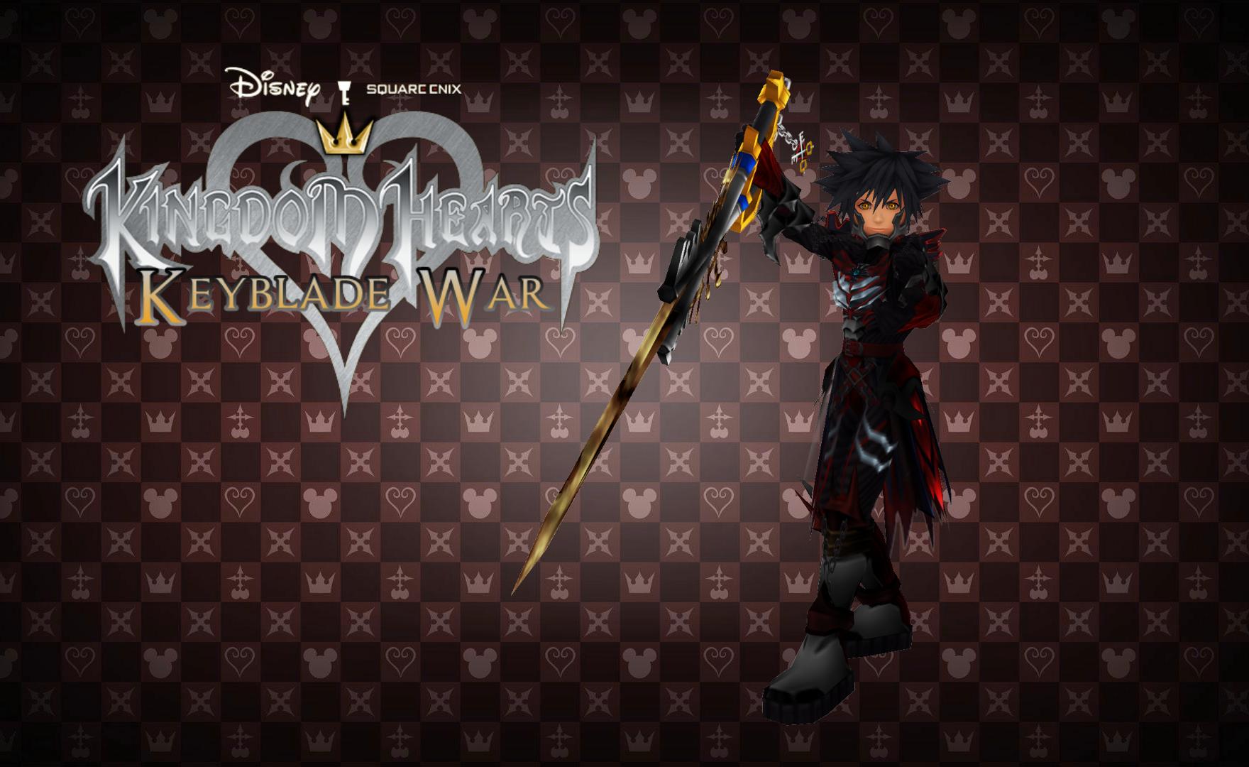 kingdom hearts keyblade war custom wallpaper 08 by