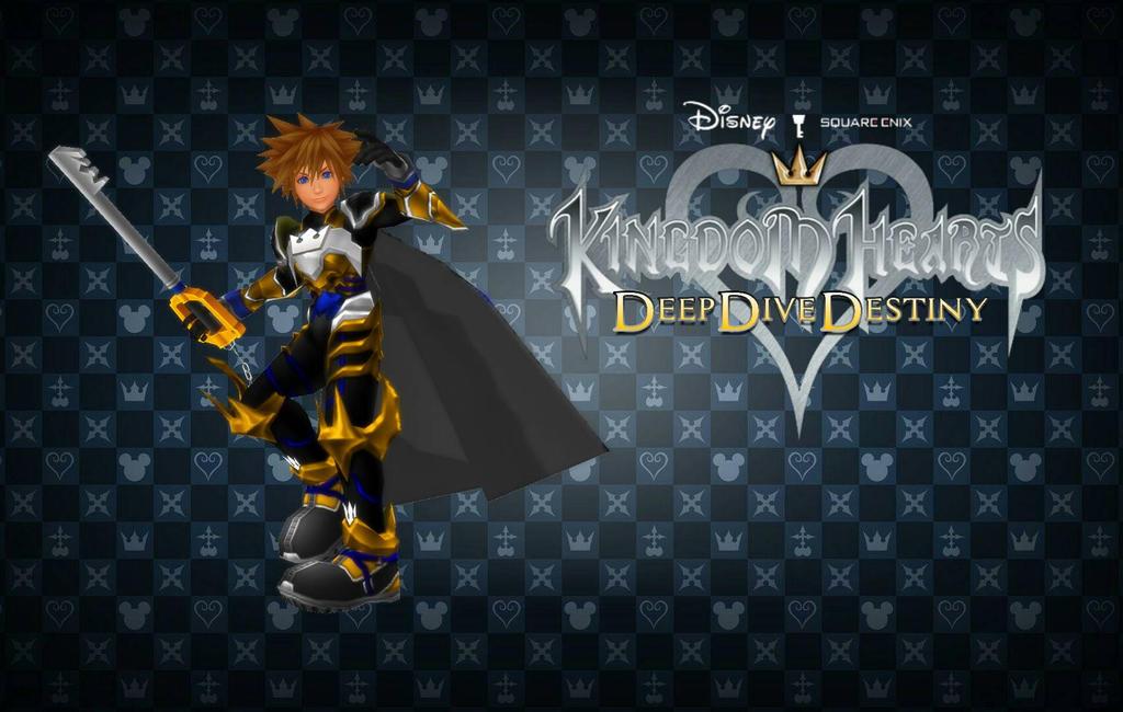 Kingdom hearts deep dive destiny wallpaper 01 by todsen19 - Kingdom hearts deep dive ...