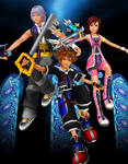 Kingdom Hearts Reimagined Android Wallpaper