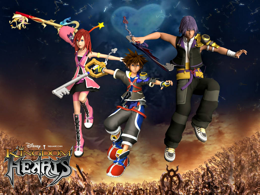Kingdom Hearts Reimagined Promo Art