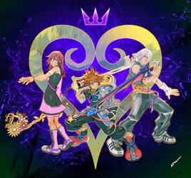 LDAWB's Kingdom Hearts Trio
