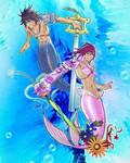LDAWB'S Atlantica Form Sora and Kairi