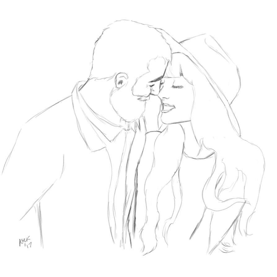 Valentines Sketch by kmkibble75