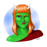 Demon Girl Hallie