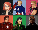 Almost Avengers