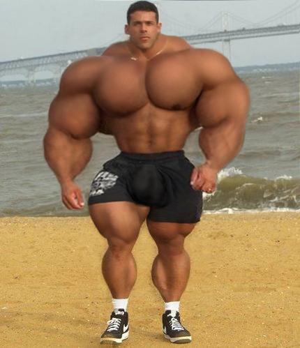 huge musclemen