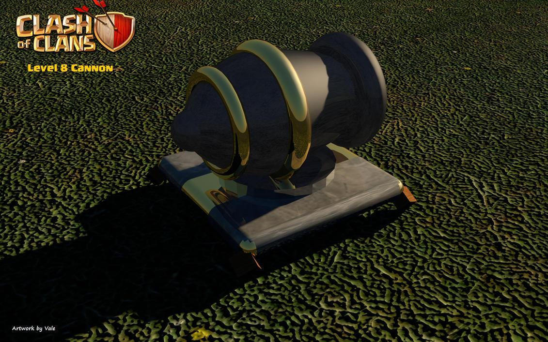 Level 8 Cannon ...
