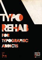 Typographic Rehab by shoelesspeacock