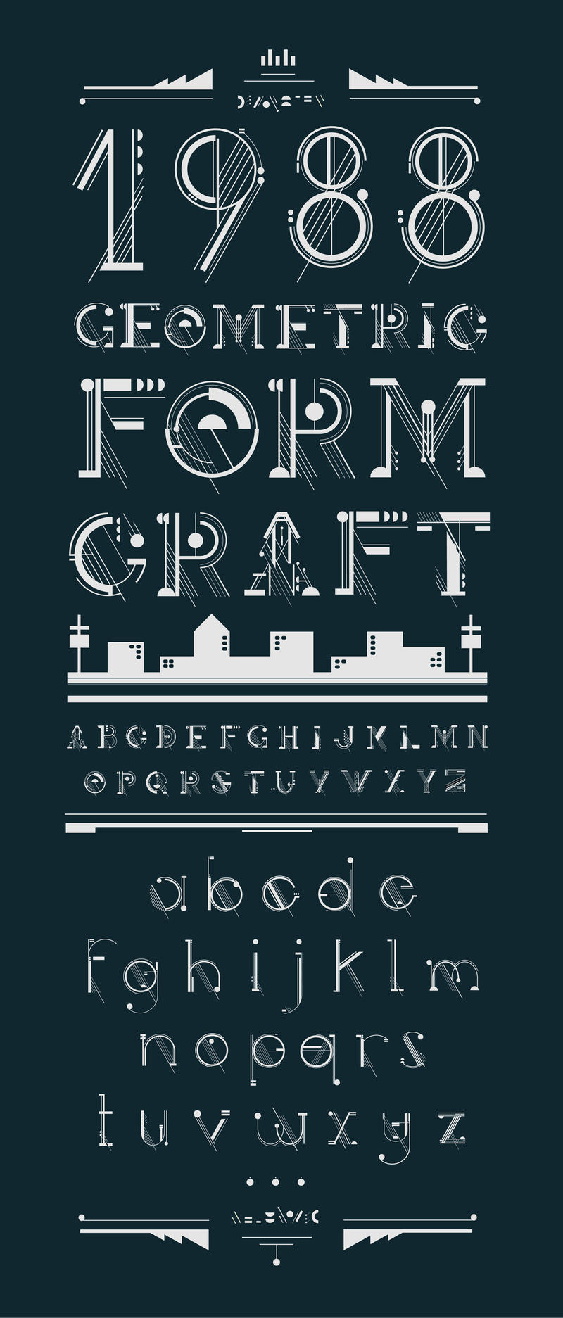Artificer Typeface by shoelesspeacock
